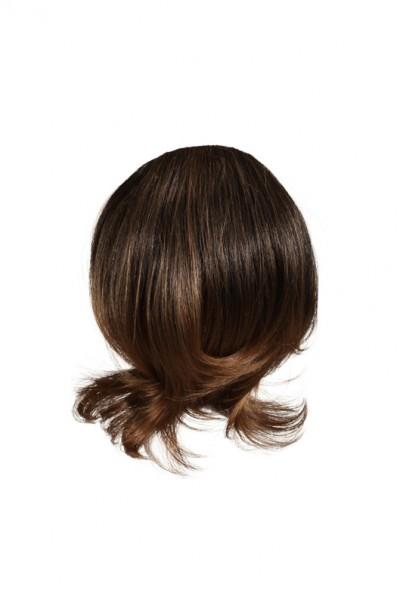 Haarteil, braun-meliert