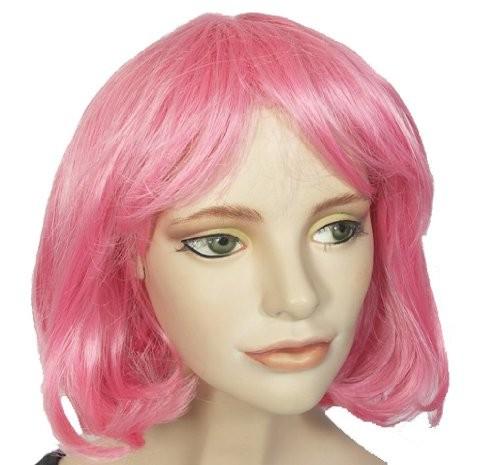 Fasching Perücke Damen Jennifer pink