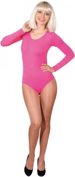 Fasching Zubehör Damen/Kinder Body pink