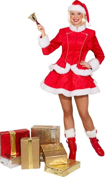 Weihnachtsfrau (Jacke, Rock, Mütze) in den Größen 36 bis 44