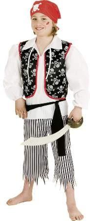 Faschingskostüm Kinder Pirat