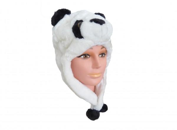 Tiermütze Plüsch Mütze Panda