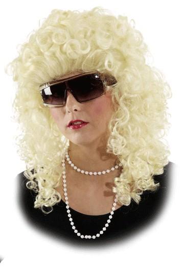 Faschingsperücke Damen Loretta blond