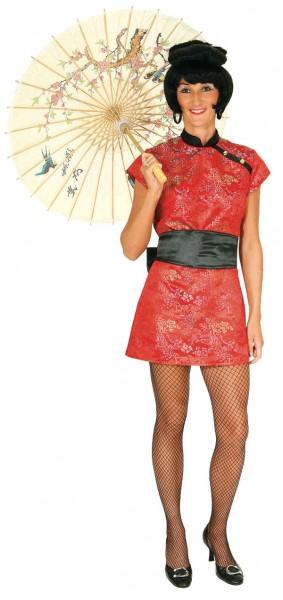 China Girl (Kleid, Gürtel) - Größe: 36 - 42