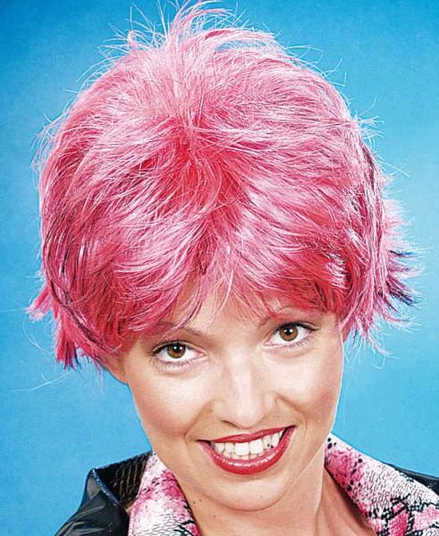 Perücke Joyce, pink-schwarz