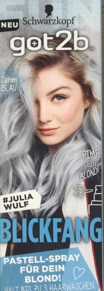 Schwarzkopf Got2b Blickfang Haarfarbe, Denim Blau Inhalt: 125ml