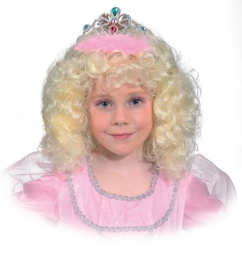 Faschingsperücke Prinzessin für Kinder