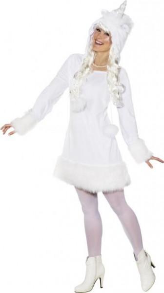 Fasching Kostüm Damen Kleid Einhorn