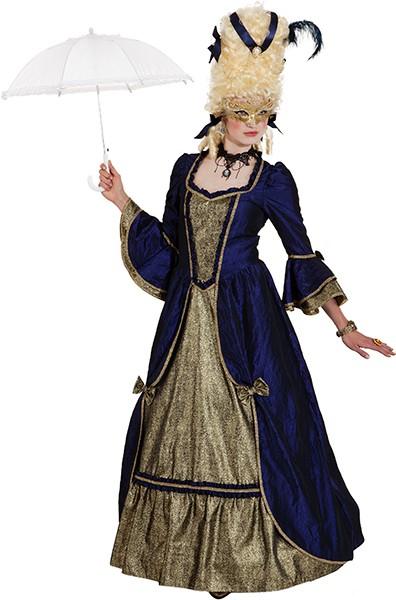 Kleid Barock Dame (ohne Reifrock) in den Größen 36 bis 48