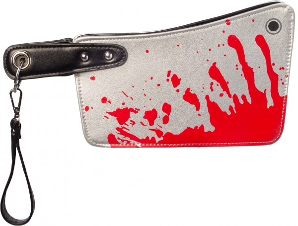 Fasching Halloween Tasche blutiges Beil