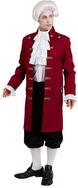 Jacke de Luxe, weinrot - Größe: 46/48 - 58/60