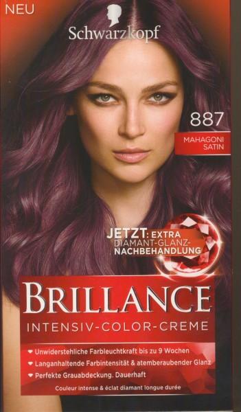Brillance Intensiv-Color-Creme, 887 Mahagoni Satin