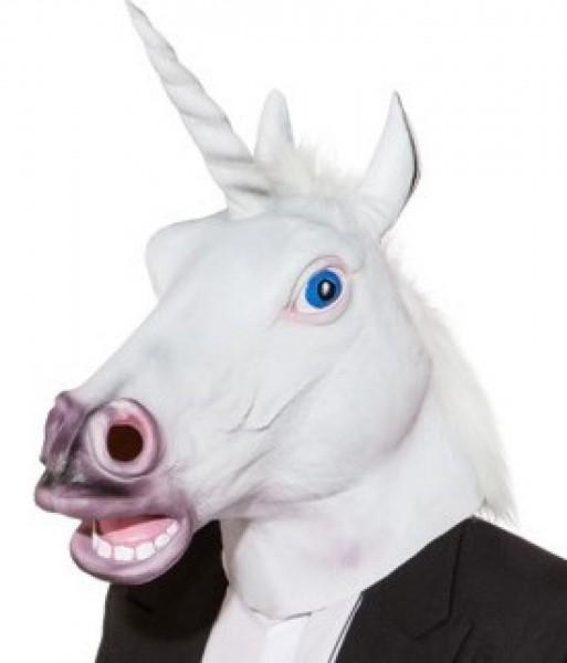 Maske Einhorn