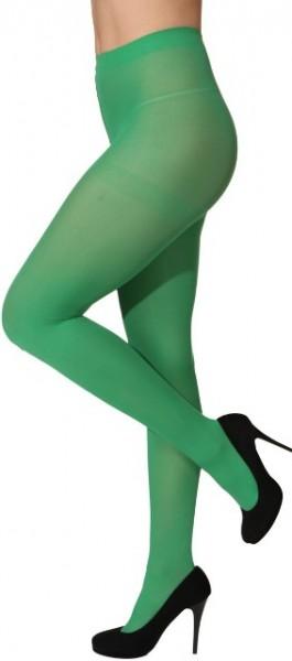 Blickdichte Strumpfhose Damen grün