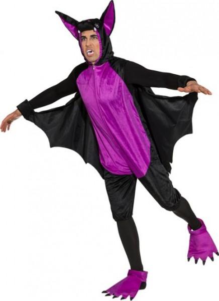 Faschingskostüm Halloween Damen/Herren Fledermaus