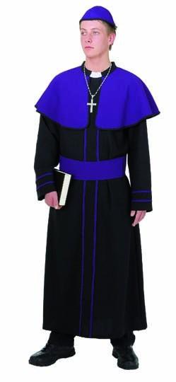 Kardinal (Gewand, Mütze, Gürtel) - Größe: 50/52 - 58/60