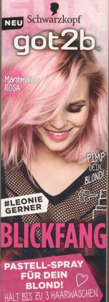 Schwarzkopf Got2b Blickfang Haarfarbe, PS1 Marshmallow Rosa Inhalt: 125ml