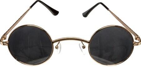Brille runde Gläser