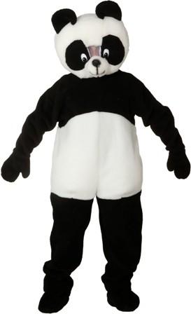 Faschingskarnevalskostüm BIG Panda Bär, Overall, Gr. 56