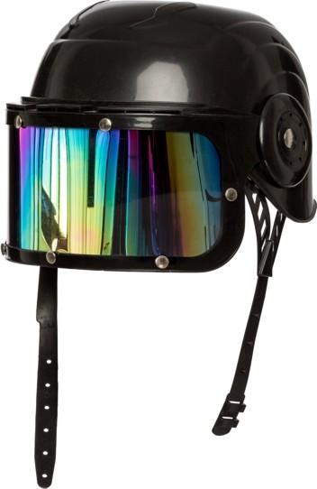 Helm schwarz mit Visier, KW 57/58