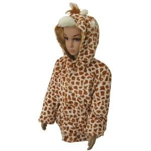 Kinderjacke Giraffe Fleckchen Gr. 128/140