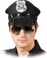 Faschingszubehör Polizei Brille