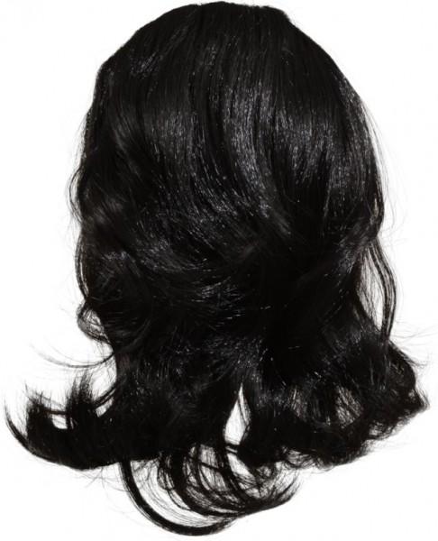 Haarteil, schwarz