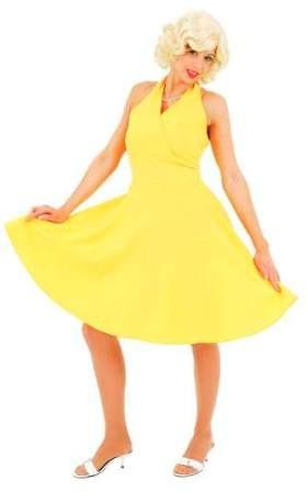 M. Kleid, gelb - Größe: 36 - 42