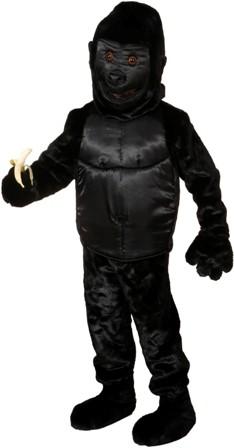 Faschingskarnevalskostüm BIG Gorilla, Overall, Gr. bis. 56