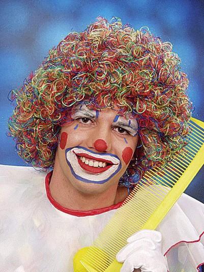 Perücke Clown August