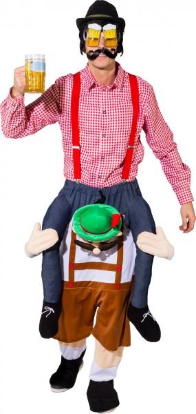 Fasching Kostüm Erwachsene Huckepack Bayer