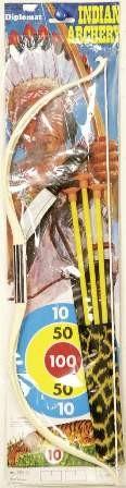 Faschingszubehör Indianer-Set