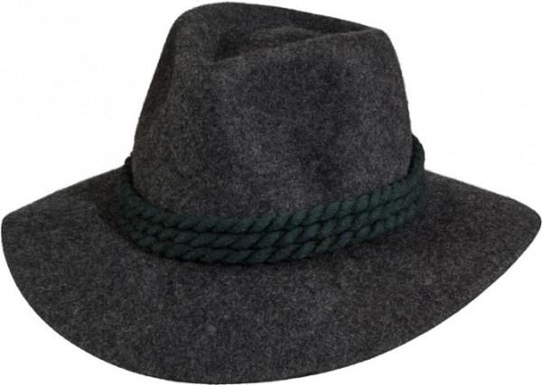 Trachtenhut mit grüner Kordel, Wollfilz