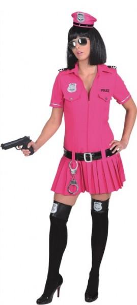 Police Girl, pink (Kleid, Gürtel) in den Größen 36 bis 44