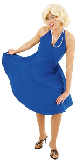 M. Kleid, blau - Größe: 36 - 42