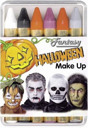 6 Halloweenstifte