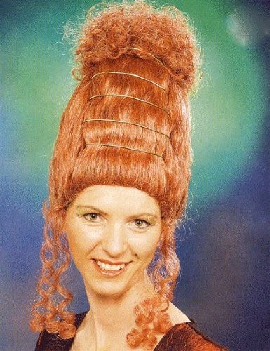 Faschingsperücke Damen Baronesse, High Fashion