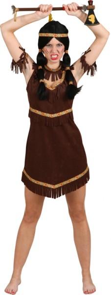 Indianerin Navajo (Kleid, Halsband, Armbänder)