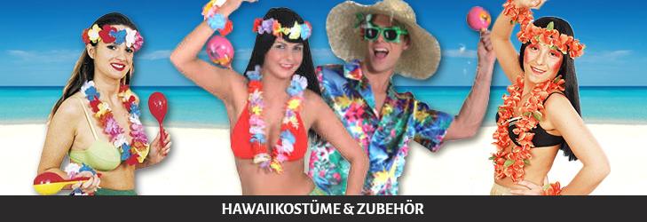 Hawaiikostüme und Zubehör