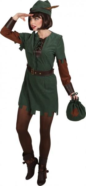 Robin Hood Lady (Kleid, Hut, Gürtel)