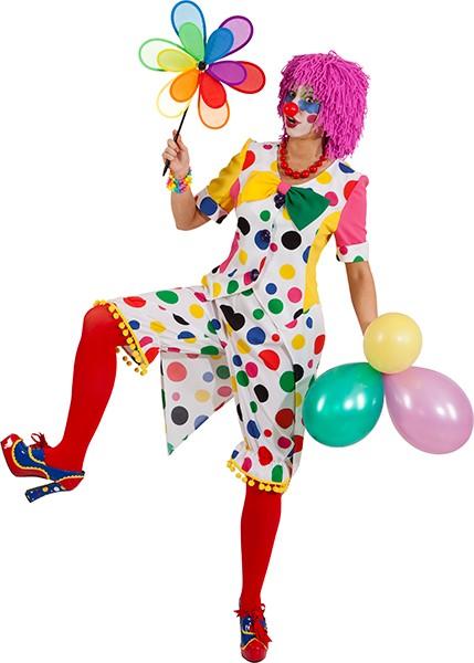 Clownhose Augustina, gepunktet - Größe: 34/36 - 42/44
