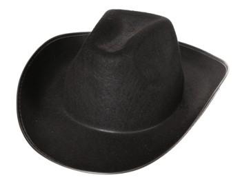 Faschingshut Cowboyhut schwarz oder braun