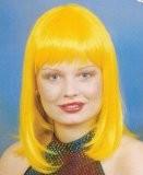 Faschingsperücke Damen: Cindy, gelb
