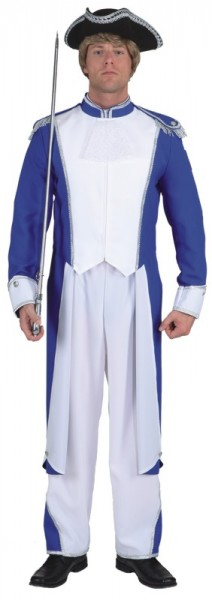 Gardemajor (rot-weiß, blau-weiß, grün-weiß, lila-weiß) - Größe: 50 - 58