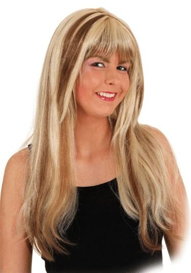 Perücke Jenny, blond-meliert