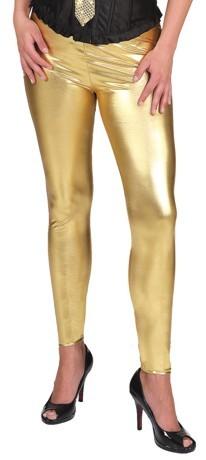 Leggings, gold in den Größen S/M und X/XL