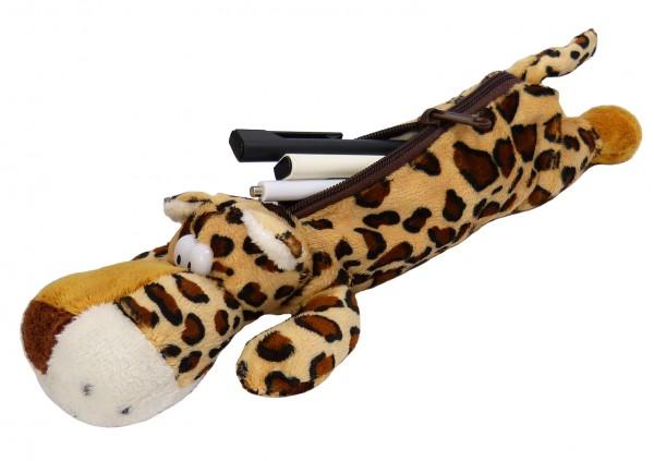 Ulkige Federtasche Federmappe Leopard für Kinder (34131-1)