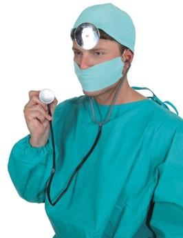 Faschingszubehör Doktor-Set