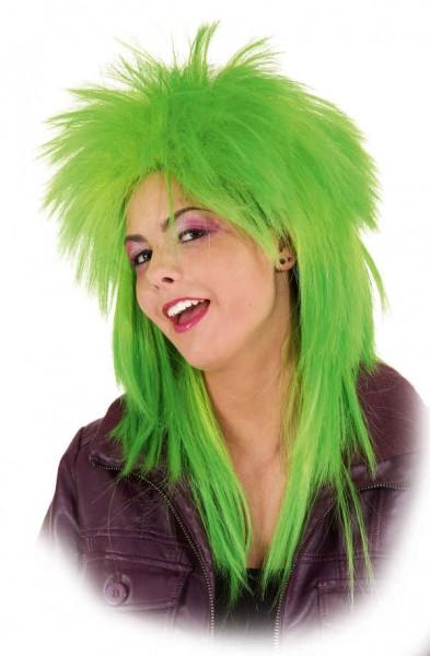 Perücke Disco, grün