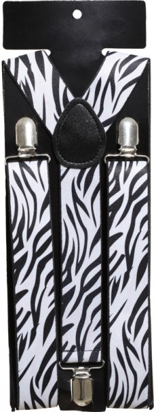 Hosenträger Zebra